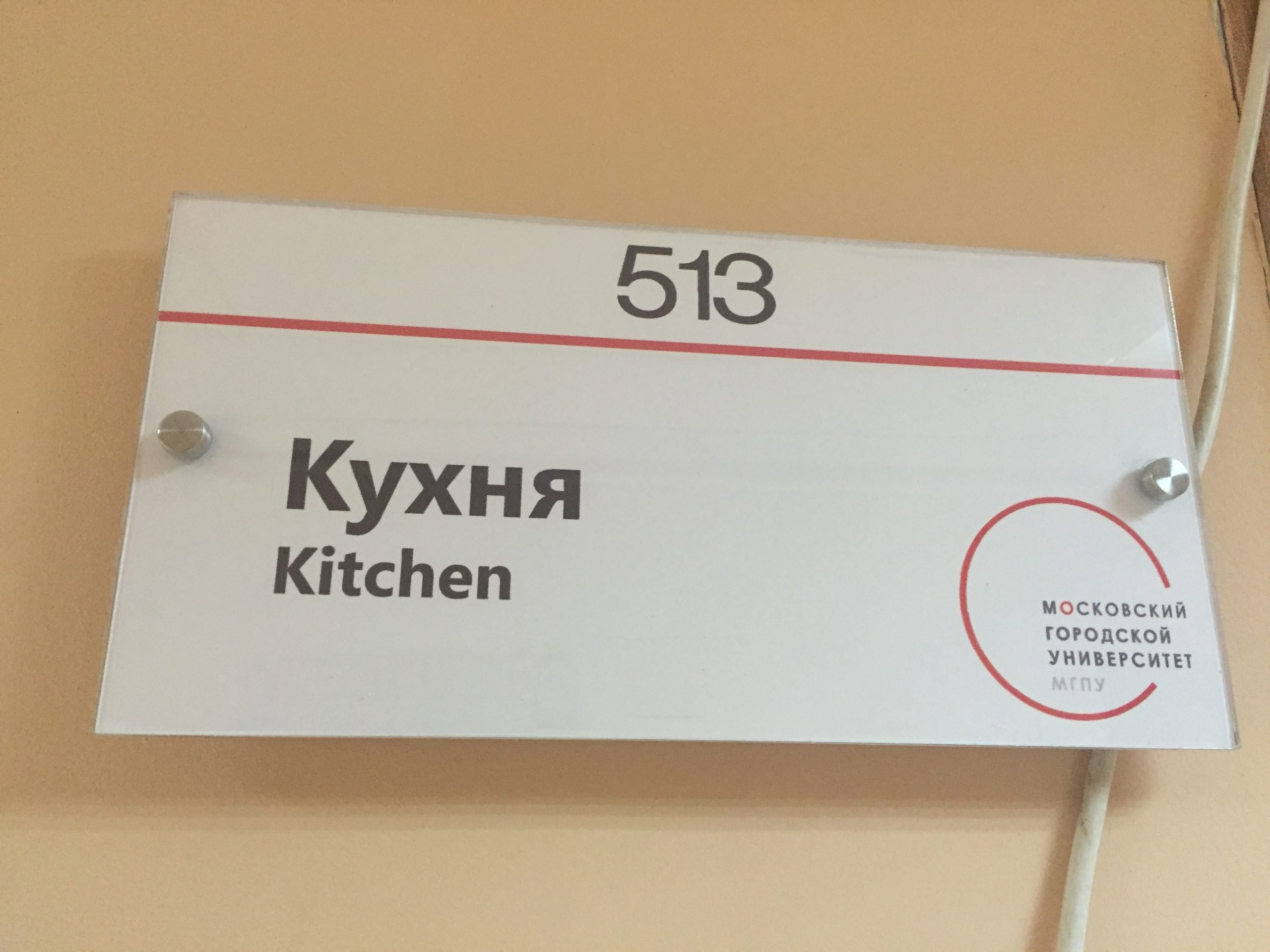 kitchen in Moscow