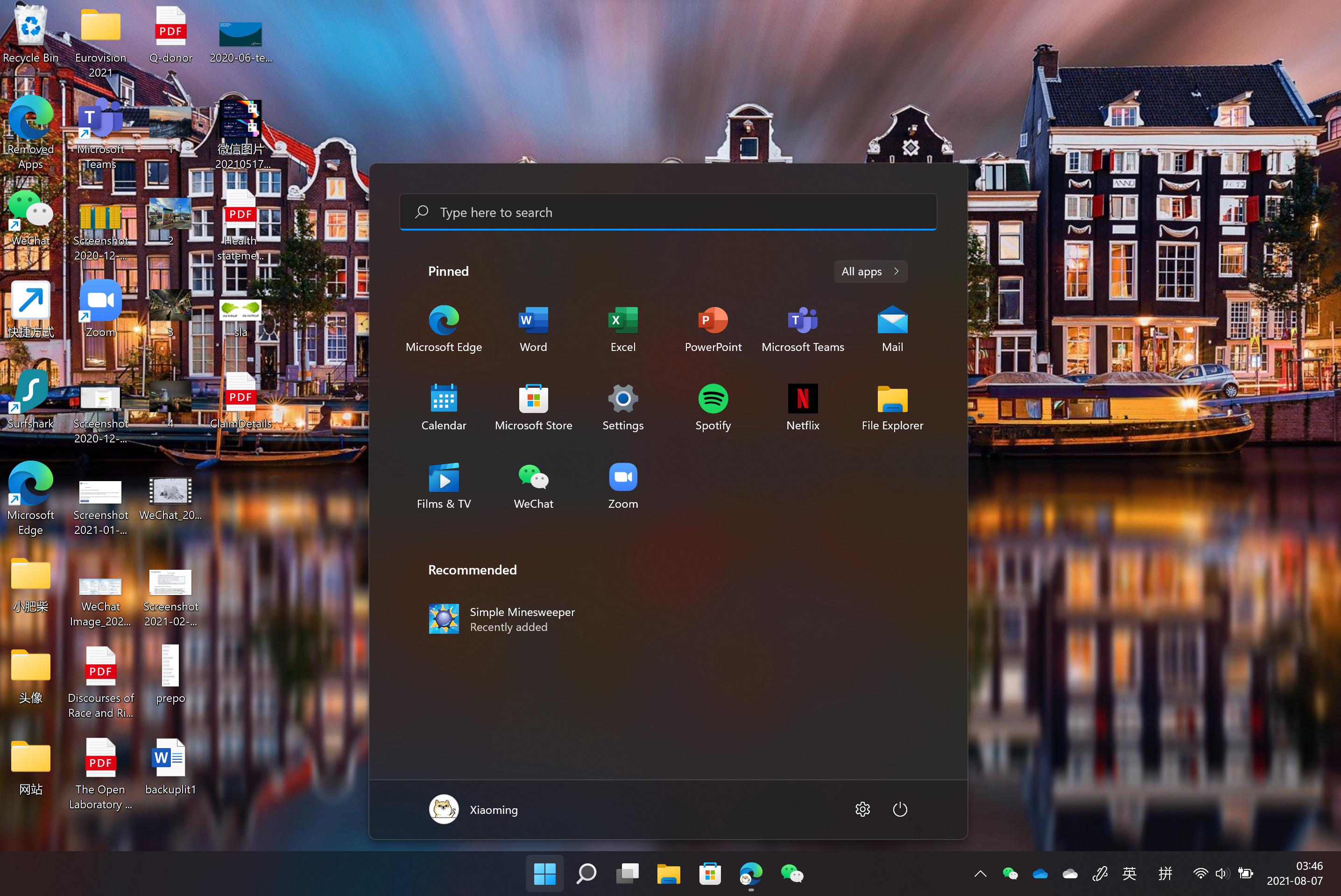 My Windows 11 Desktop
